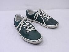 Cole Haan Mens 8 Green Leather Fashion Sneaker Laced Casual Shoes