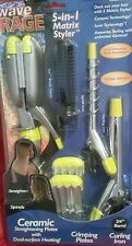 Wave Rage 5-in-1 Matrix Styler NEW DECK OUT YOUR HAIR WITH 5 MATRIC STYLES