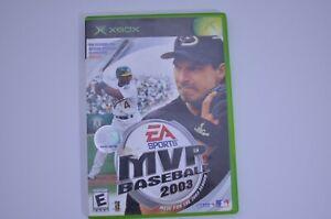 MVP Baseball 2003 EA Sports (Microsoft Xbox, 2003) Complete - TESTED