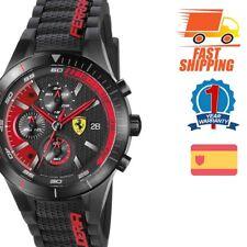 Ferrari Analógico Casual RedRev Evo Negro De los hombres 0830260