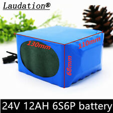 Electric bicycle battery 24V12ah 6S6P 25.2V Electric scooter li-ion battery