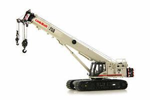 Link-Belt TCC-750 Crawler Crane - Tonkin 1:50 Scale Diecast Model #LB120700 New!