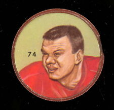 1963 CFL NALLEY'S POTATO FOOTBALL SP COIN #74 MILTON CRAIN MONTREAL ALOUETTES