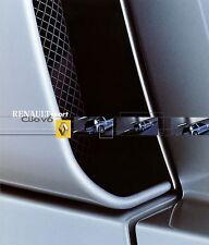 Prospekt 2000 Renault Clio Sport 3.0 V6 12 00 Autoprospekt Auto PKWs  brochure