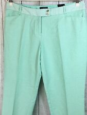 The Limited Women's Sz 10 Green Ankle Length Pencil Pants New $79