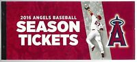 2016 MLB LOS ANGELES ANGELS COMPLETE FULL SEASON TICKETS - 83 TROUT & PUJOLS HR