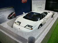 BUGATTI EB110 GT Coupé blanc 1/18 AUTOART 70978 voiture miniature de collection