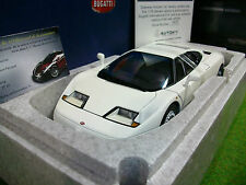 BUGATTI EB110 GT Coupé blanc 1/18 AUTOART 70978 voiture miniature de collection