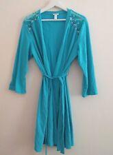 Cosabella Intimint Del Mar Robe Sz L blue floral NIP NEW
