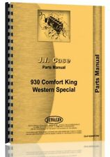Case 930 941 Tractor Parts Manual Catalog Ck Comfort King Western Sn 8258382 Up