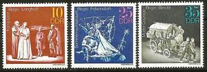 Germany (East) DDR GDR 1973 MNH Theatrical Production King Lear Mother Courage
