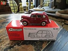 SOMERVILLE MODELS 1/43 1938 FORD PREFECT RED No. 147. NEW WITH MINT BOX