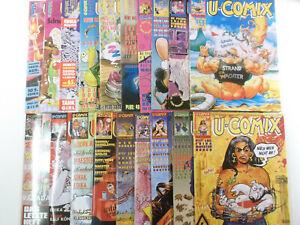19 Stück U-COMIX Comic Sammlung ( Alpha Comic Verlag ) Neuwertig