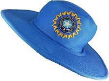 Team India Cricket Umpire Hat Cotton Blue Indian ODI IPL T20 Bcci UK