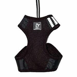 Dogo EasyGo Basic Harness Leash - Black XXS XX Small
