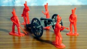 Armies in Plastic British 6-pounder Artillery Cannon War of 1812 1/32 54mm