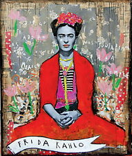 "MX06126 Frida Kahlo - 1907- 1954 Self–Taught Self Portraits Art 14""x16"" Poster"