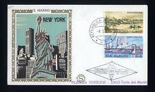 SAN MARINO - FDC - 1973 Vedute di New York