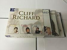 CLIFF RICHARD 3 CD BOX SET 1960'S, 1970'S & 1980'S DISKY