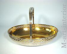 Jugendstil WMF Schale Korb Gold Silver plated basket bowl Secession ca 1900
