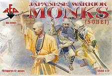 Redbox 72005 monjes guerrero japonés (Sohei). escala 1/72