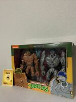 NECA Target Exclusive Traag and Granitor Teenage Mutant Ninja Turtles Lot