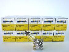 (7,28€/Einheit) 10 x NARVA® Qualität 24V H7 70W Sockel PX26d Halogen Lampen Lkw