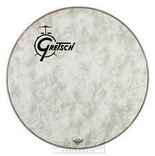 Gretsch Bass Drum Head Fiberskyn 24 With Offset Logo - GRDHFS24O