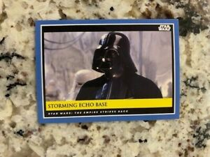 TOPPS STAR WARS GALATIC MOMENTS COUNTDOWN EPISODE 9 CARD STORMING ECHO BASE #23