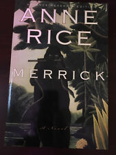 Merrick by Anne Rice RARE 1st Edition HC/DJ MINT/NEW Condition