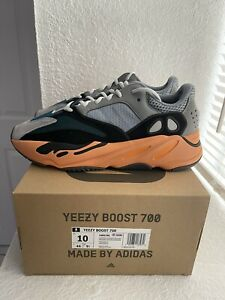 Adidas Yeezy Boost 700 Wash Orange Size 10 Men GW0296 NEW *IN HAND*