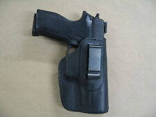 Sig Sauer P 220, 226  IWB Leather In The Waistband Concealed Carry Holster BLACK
