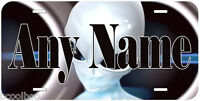 Alien From Space Any Name Personalized Novelty Car Metal License Plate