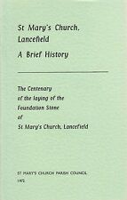 St Mary's Church, Lancefield: A Brief History (Paperback, 1972)