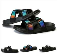 Mens Flats Plus Size 36-46 Open Toe Slippers Mules Slingback Beach Casual Sandal