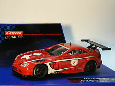Carrera Digital 132 30510 Mercedes - Benz SLR McLaren 722 GT Trophy 2008 Neu