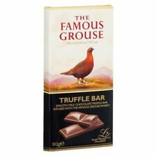 The Famous Grouse Whisky Chocolate Bar Truffle 90g Gift Stocking Filler