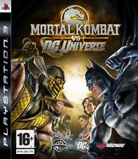 Mortal KOMBAT VS DC UNIVERSE ~ PS3 (in ottime condizioni)