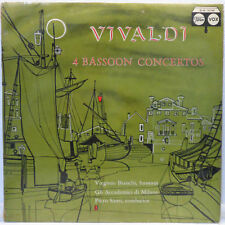 Virginio Bianchi / Piero Santi VIVALDI - 4 Bassoon Concertos VOX ST-PL 10.740