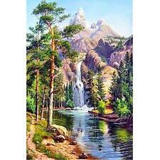40x30cm Landscape Scenery 5D Diamond Painting Craft DIY Cross Stitch Home Decor