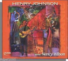 Henry Johnson With Nancy Wilson - Organic - New 2003, 14 Song Jazz CD!