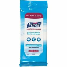 Purell Sanitizing Wipes, Clean Refreshing, 15 count each