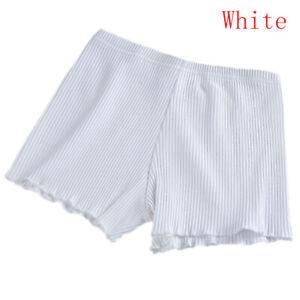 Women Stretch Cotton Under Shorts Legging Skirt Soft Safety Seamless Pants Dress