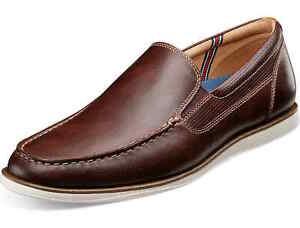 Florsheim Atlantic Venetian Loafer - Chocolate Leather, Size 11.5 [13316 202]