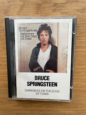 Minidisc Bruce Springsteen Darkness on the edge of town album music