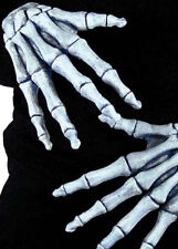 Halloween Deluxe Adult Skeleton Gloves
