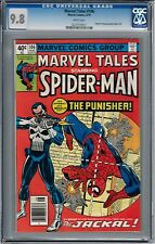 MARVEL TALES 106 1st app PUNISHER WHITE PAGES rep Amazing Spiderman #129 1 of 3