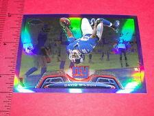 TOPPS Chrome 2013 David WILSON #89 Purple SP/499 NY GIANTS Virginia Tech HOKIES