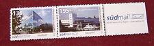 PRIVATPOST 2011 südmail   200 J Friedrichshafen  2 Zusammendrucke ** 130 u 195 C