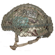ELASTICATED MILITARY HELMET NET-IDEAL FOR CAMMING MK6, MK7, VIRTUS